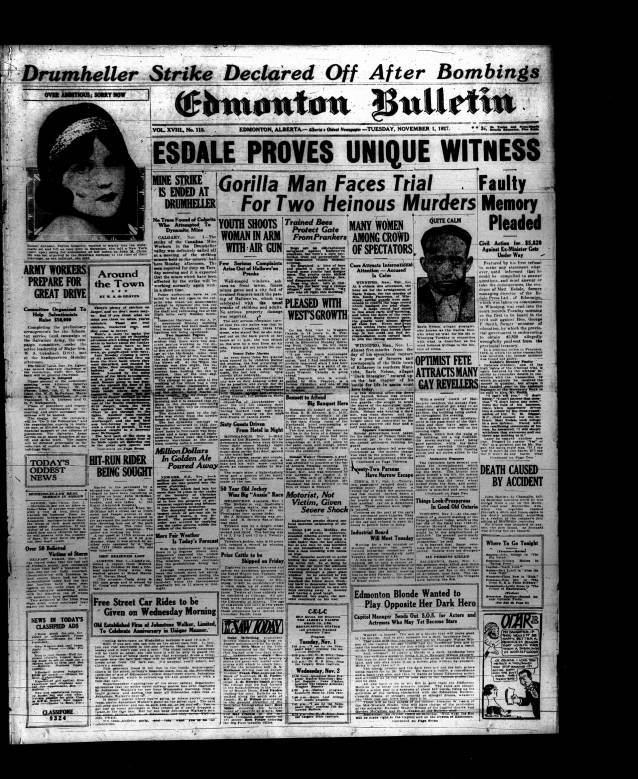 1 - Early Alberta Newspapers - Digital Collections