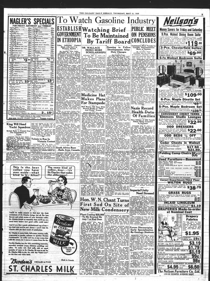 407 - Early Alberta Newspapers - Digital Collections