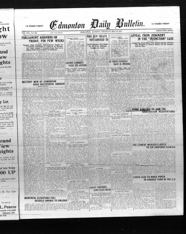 b366bb07d4 189 - Early Alberta Newspapers - Digital Collections