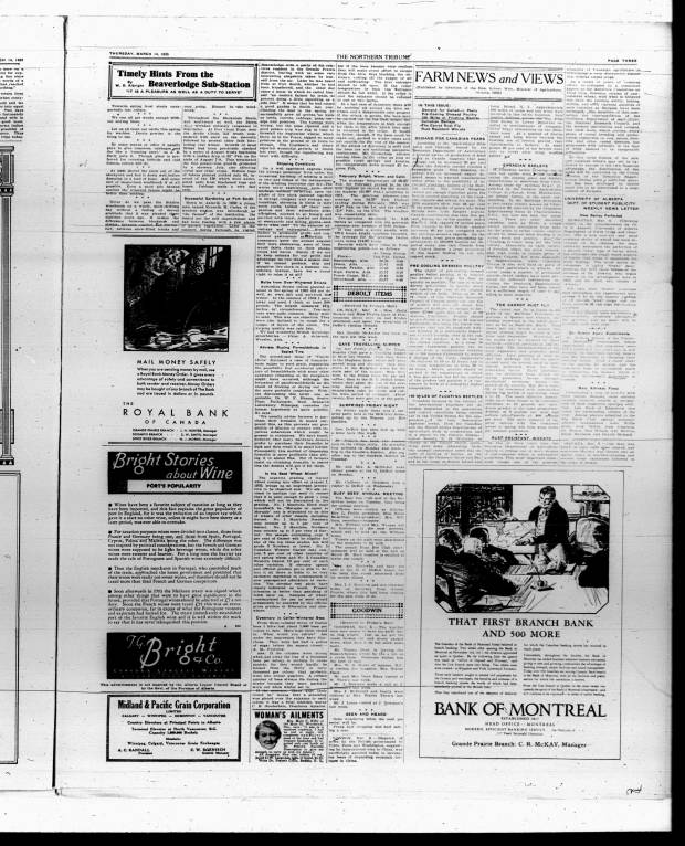 83 - Early Alberta Newspapers - Digital Collections