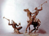 Indian Skirmish (2 pieces)