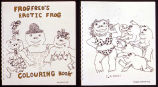 Frog Fred's Erotic Frog-Colouring Book