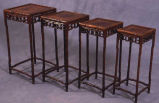 Untitled (four nesting tables)