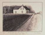 Alex Sayer's House, Near Bresaylor, Sask. (Building Started Before 1885)
