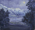 Moonlight Over The Okanagan