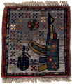 War Rug with Natural Dyes
